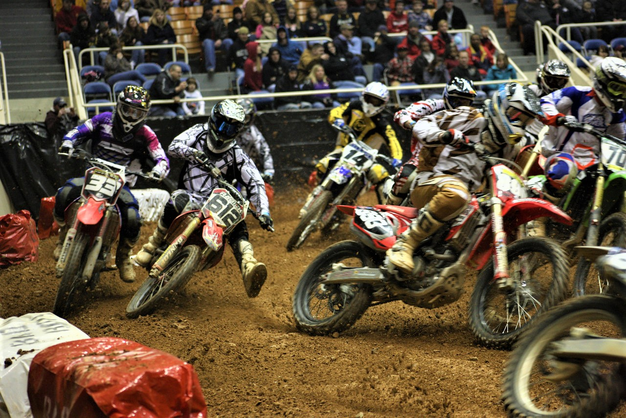 SUPERCROSS first turn